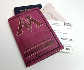 Ministry of Magic Leather Passport Cover