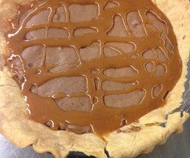 Peanut Butter- Brownie Pie
