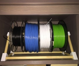 Filament Spool Rack