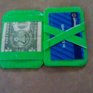 Magic Duct Tape Wallet