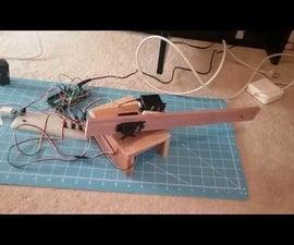 Rubber Band Gun Using an Arduino