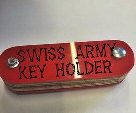 DIY Swiss Army Key Holder