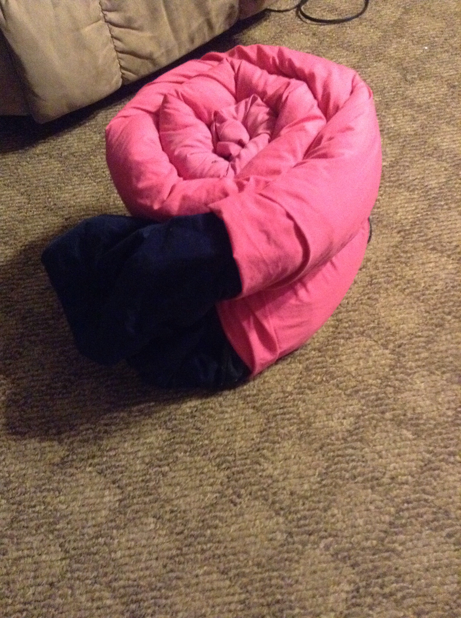 Picture of Easy Fast Way to Store Blankets