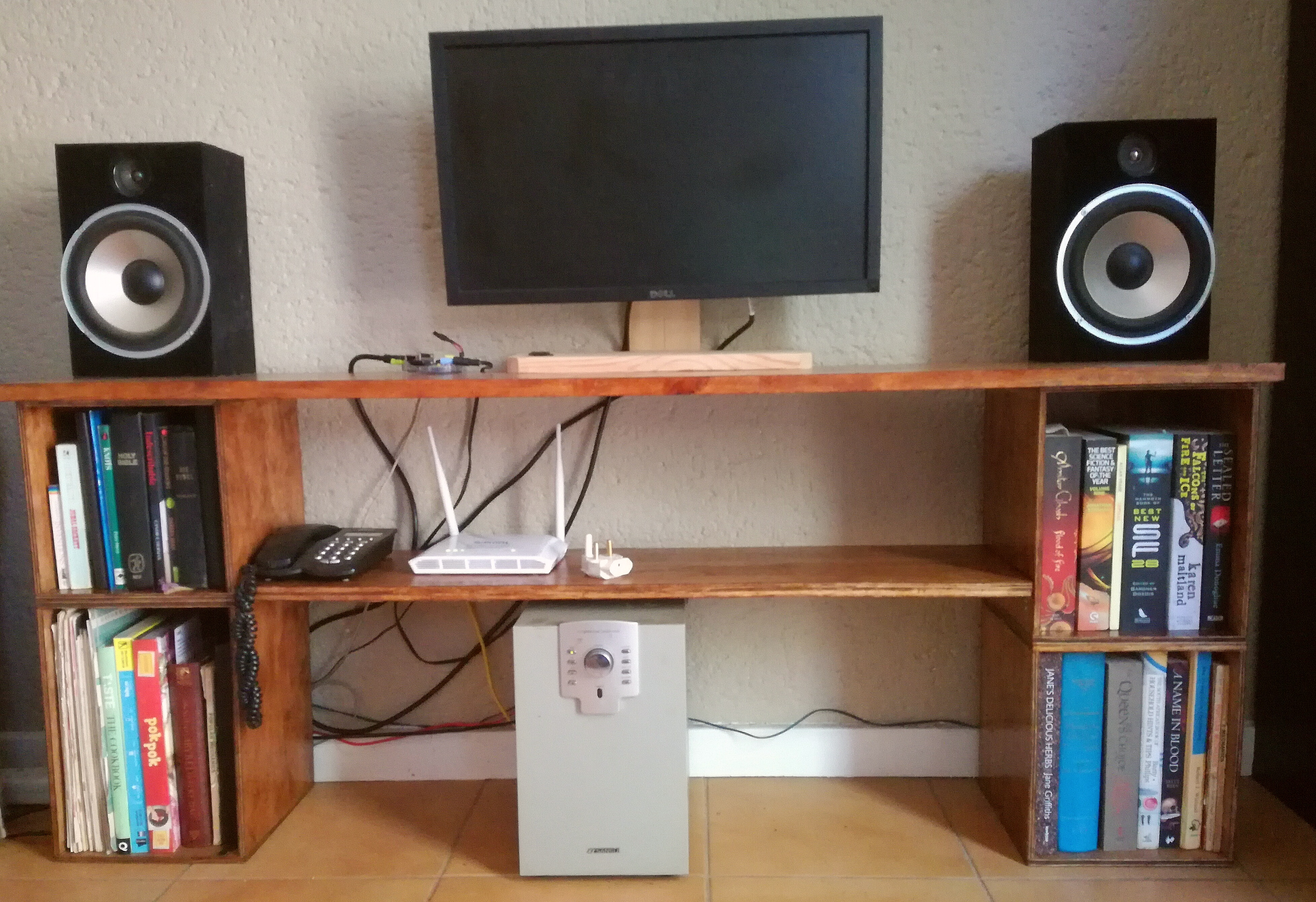 Picture of TV Table & Book Shelves