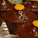 Chocolate Cointreau cupcakes