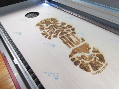 Laser Engraving and Cutting the Boards