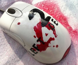 L4D2 logo gaming mouse