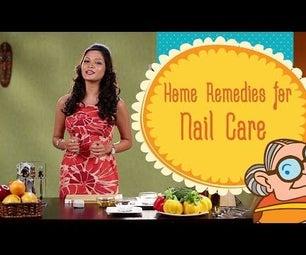 Nail Care - Natural Home Remedies for Beautiful Nails - Toe Nail Fungus Treatment