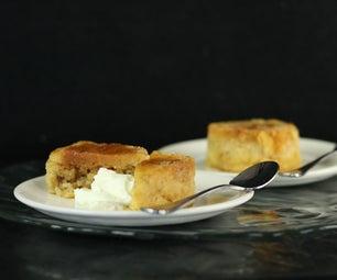 Caramel  Steamed Pudding