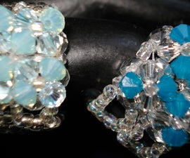 See how to Make a stunning 4-flower Crystal Ring