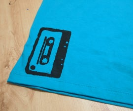 (Kind of) Screen printing on the cheap