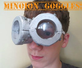 DIY Minion Goggles