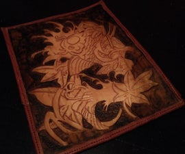 Tooled Leather Tablet Case