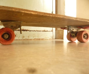 Fully Recycled Skateboard