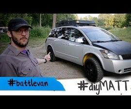 I Made a #battlecar Out of My Soccer Mom Minivan.
