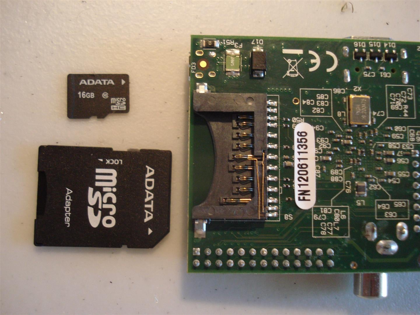 Shrink Your Raspberry Pi With Microsd Card Slot  With