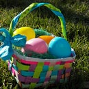 Recycled Paper Easter Baskets
