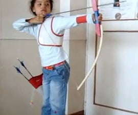 TOY BOW (full kit), ARCO  (Equipo completo)