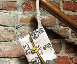 Sew a Simple Foldover Clutch