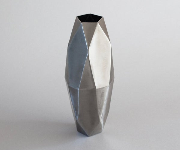 TIG-Welded Steel Vase