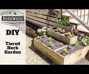 Tiered Herb Garden | a DIY Tutorial
