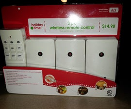 Cheap Home Automation using Wireless Outlet Modules