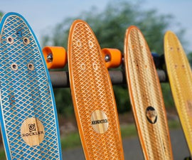 Pallet Wood Penny Boards