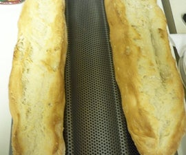 Delicious Homemade Baguette