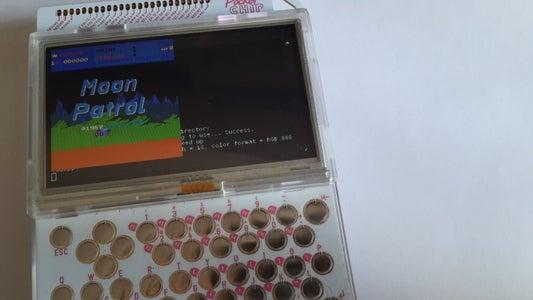 Retro Arcade Gaming on PocketC.H.I.P.