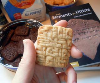 Cuneiform Clay Tablet Cookies