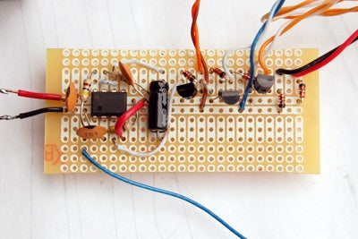 Build the 555 Ic One-shot Timer