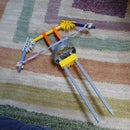knex bow and arrow/finger crossbow