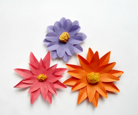 Paper Daisiy