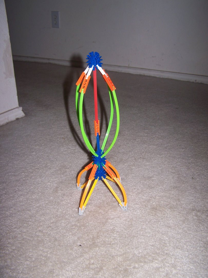 Picture of Knex Rocket