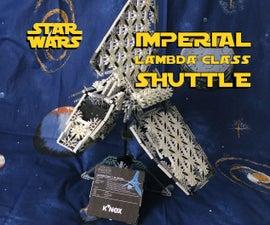 K'NEX Star Wars Lambda-Class Shuttle