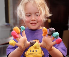 How to Make Playdough (Play-doh)