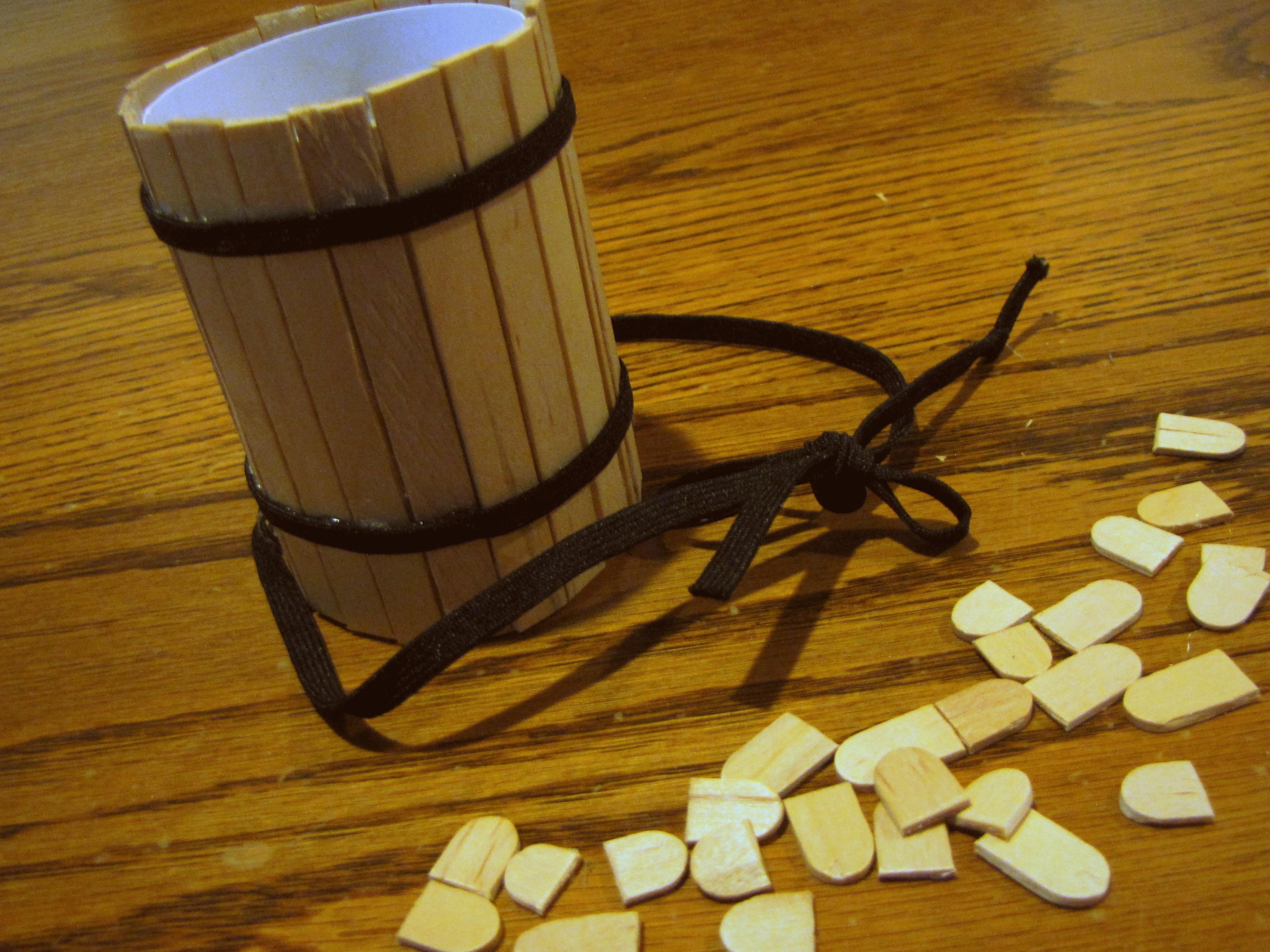 Picture of Pencil Cup Barrel (..or Should I Say BEAR-el..)