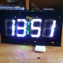 Bluetooth LED Alarm Clock (7-Segment Display From Trash)