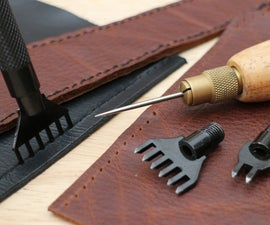 Creating Sewing Holes In Leather