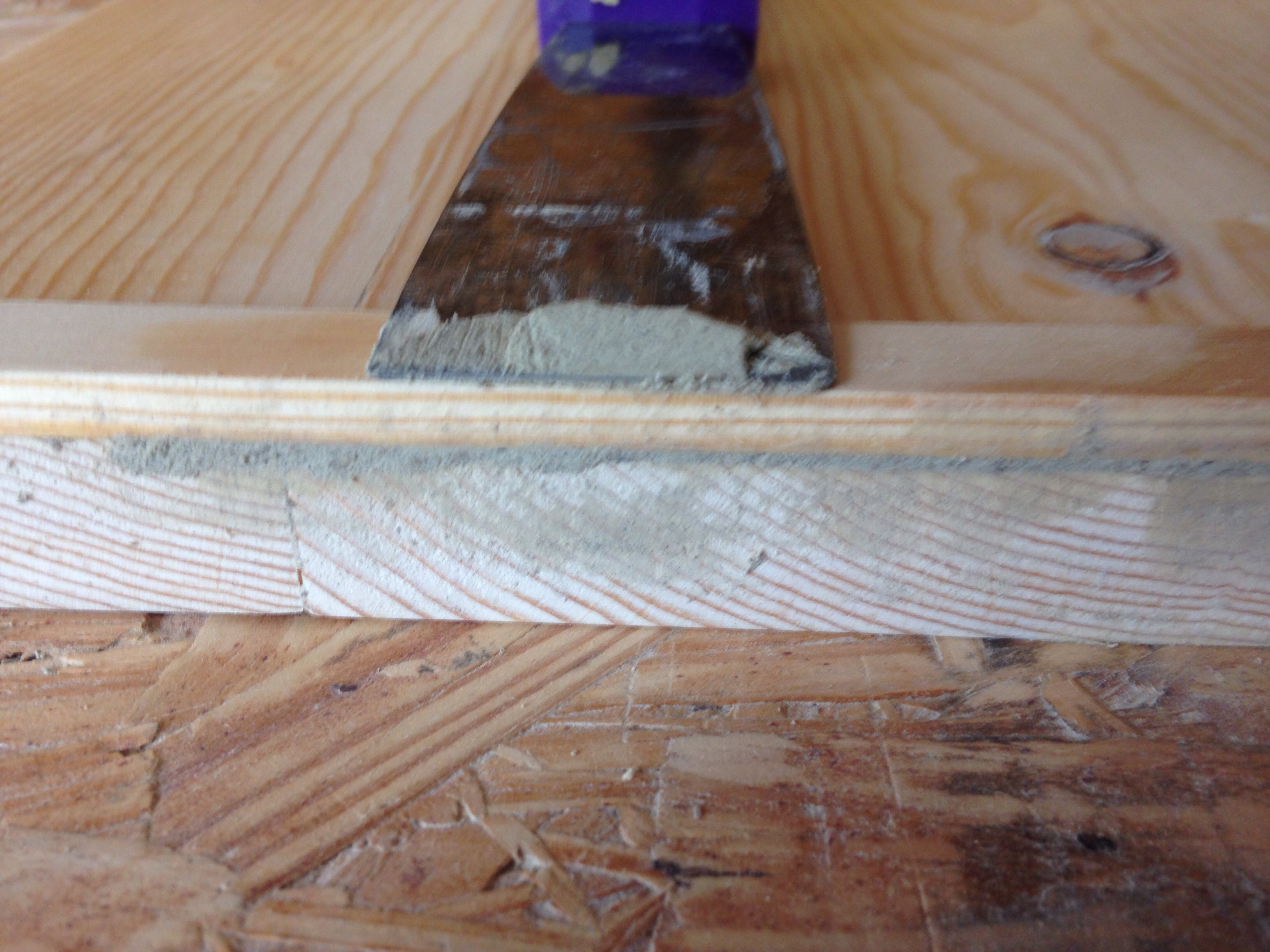 Picture of Final Sanding and Marking for Blade