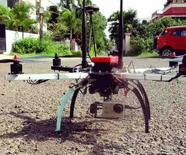 Vision Based Object Tracking and Following on a DIY Drone.