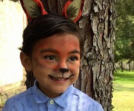 Fox Makeup for Kids