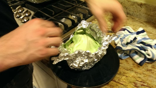 Remove Foil and Let Cool Before Enjoying