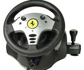 Arduino Leonardo Usb Steering Wheel