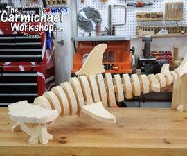 Wooden Hammerhead Shark