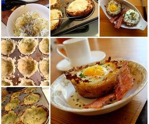 Hash Brown Egg Baskets