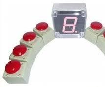 4 Players Competiton/Quiz Buzzer System Using CloudX Microcontroller