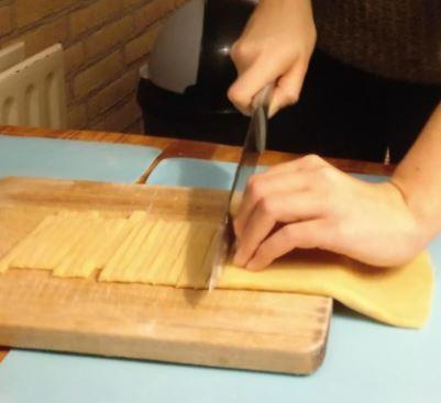 Picture of Cutting the Tagliatella
