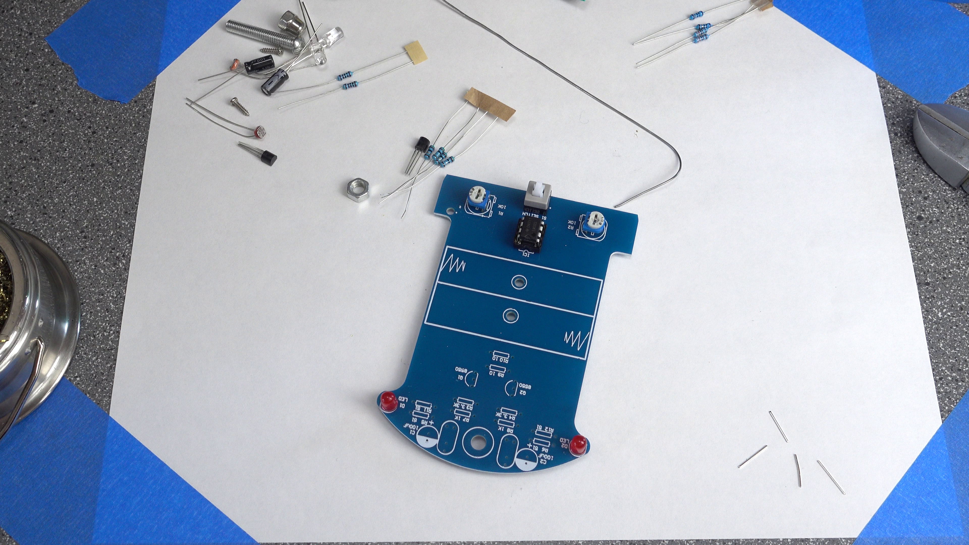 Picture of Soldering: Red LEDs