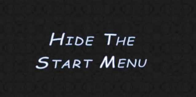 Picture of Hide the Start Menu